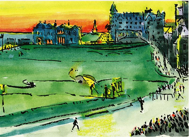 Harold Riley artwork