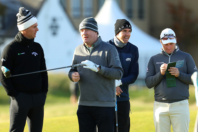 Alfred Dunhill Links Championship - Day One