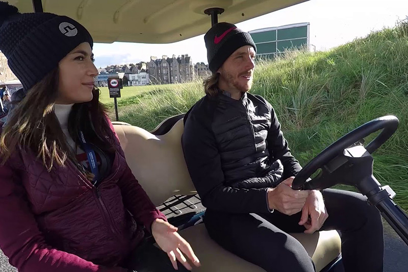 Buggy Rides: Ryder Cup hero Tommy Fleetwood at the Alfred Dunhill Links