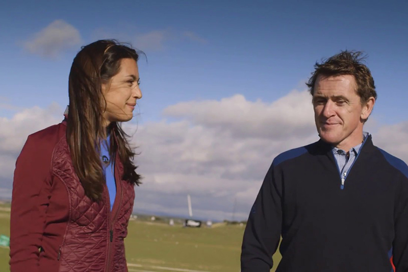 AP McCoy interview at the Alfred Dunhill Links