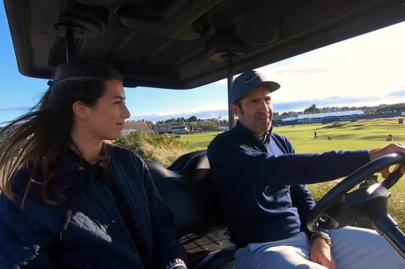 Buggy Ride With Luis Figo
