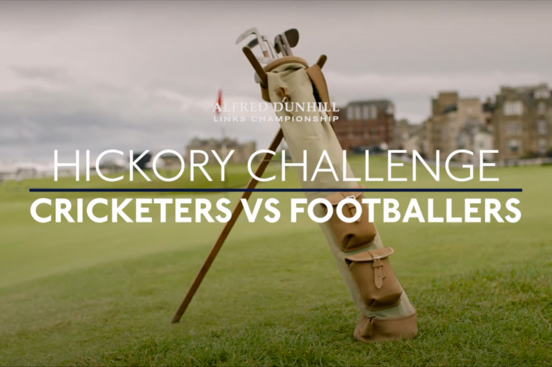 Hickory challenge, Footballers vs. Cricketers