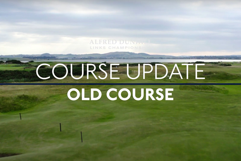 St Andrews Course Update